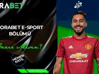 Gorabet E-Sport Bölümü